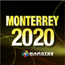 2020 karate 1, Youth League Monterrey, September, 25-27