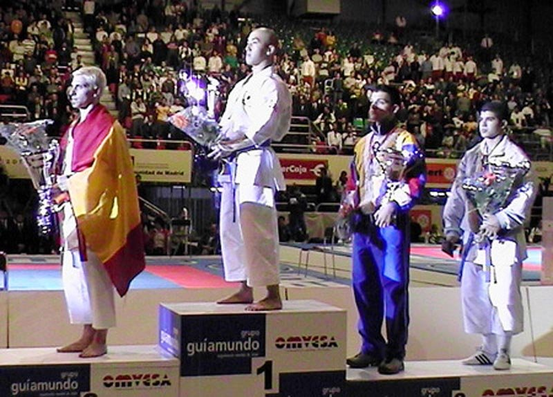 News center photo gallery world karate federation for Gallery mall madrid
