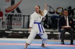 Deborah Knihs of Brazil was voted MVP of Female Para-Karate