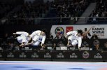 JAPAN took the title in both Male and Female Kata competitions
