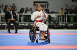 Isabel Fernandez of Spain won gold in Wheelchair users category in front of family and friends
