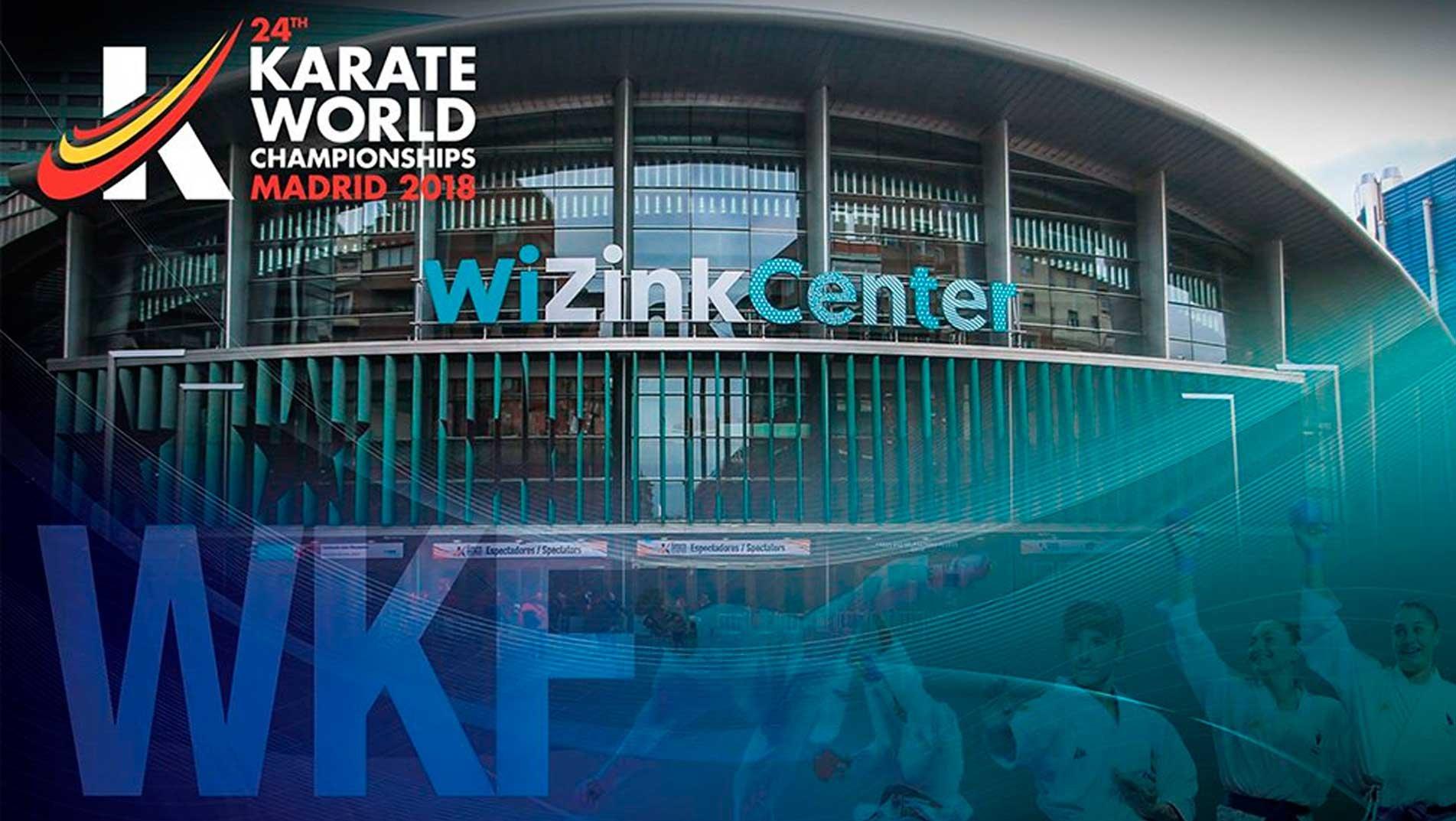 24th Karate World Senior Championships 2018   <b>WKF</b>