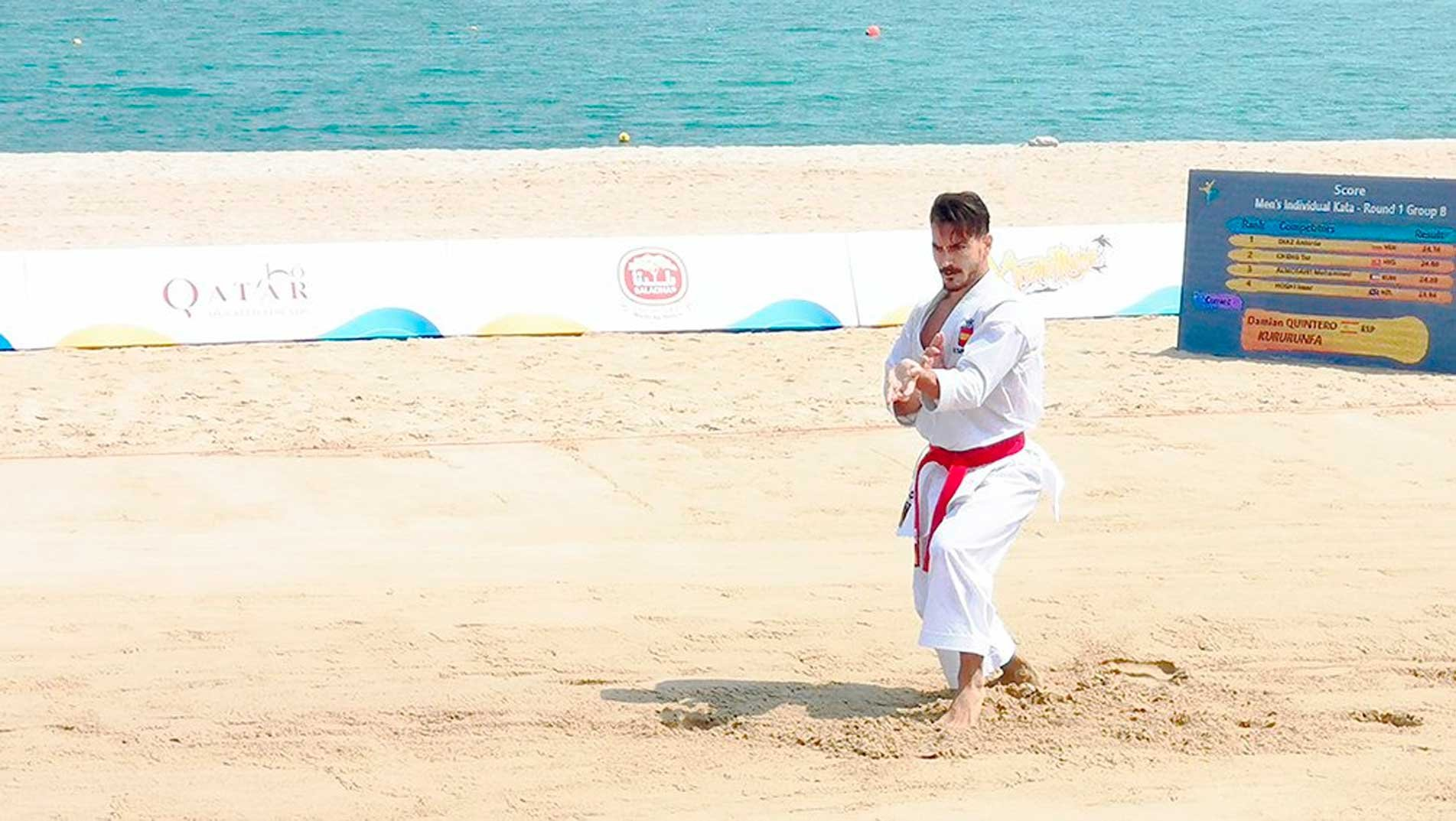 Karate makes history in memorable first day of ANOC World Beach Games