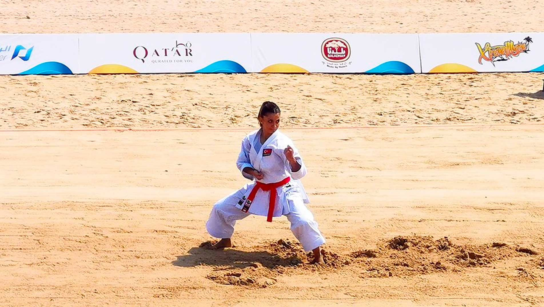 Karate heroes at ANOC World Beach Games: Great to be part of this fantastic event!
