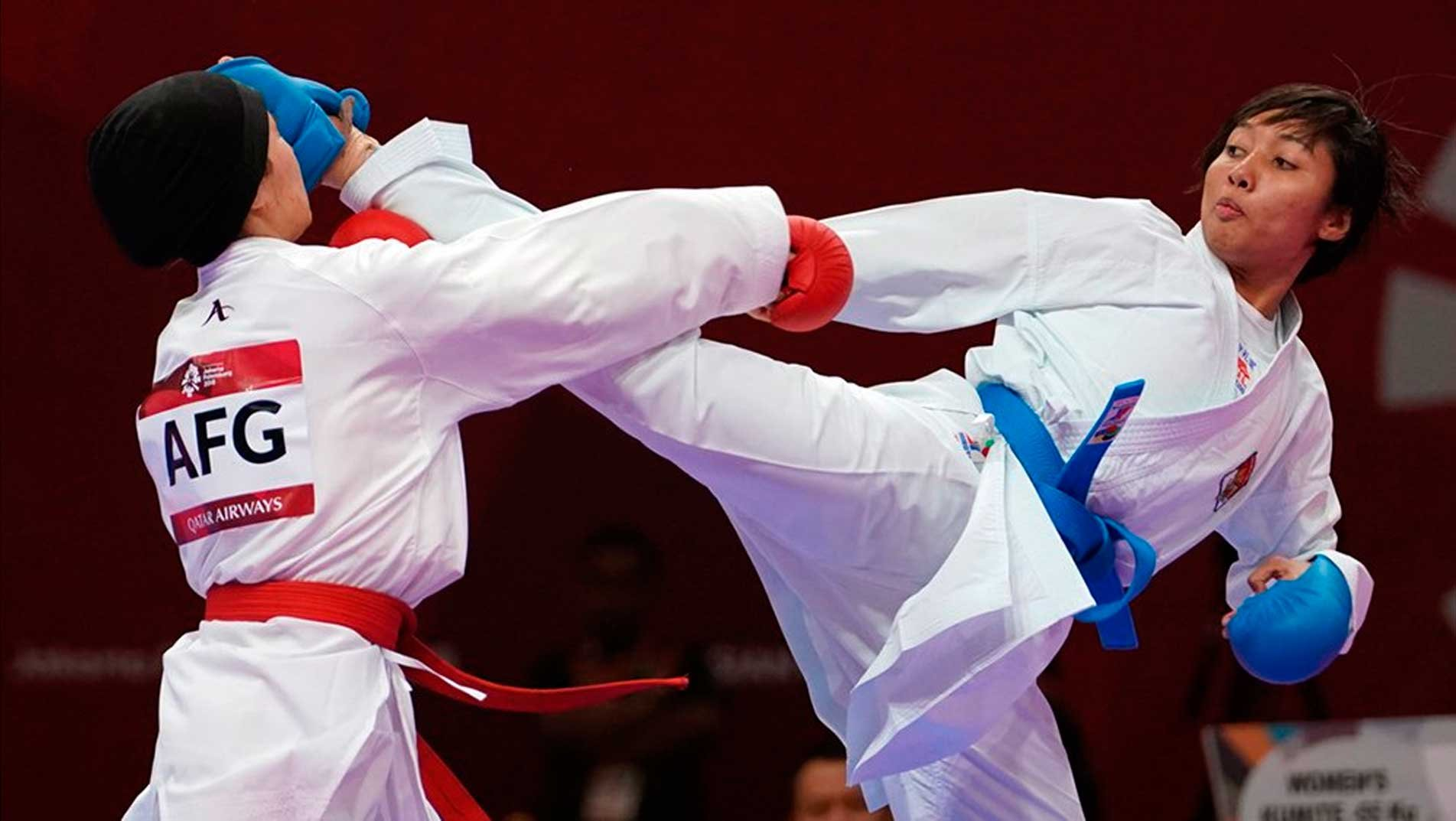 Karate powerhouses take spotlight on day 02 of 2018 Asian Games