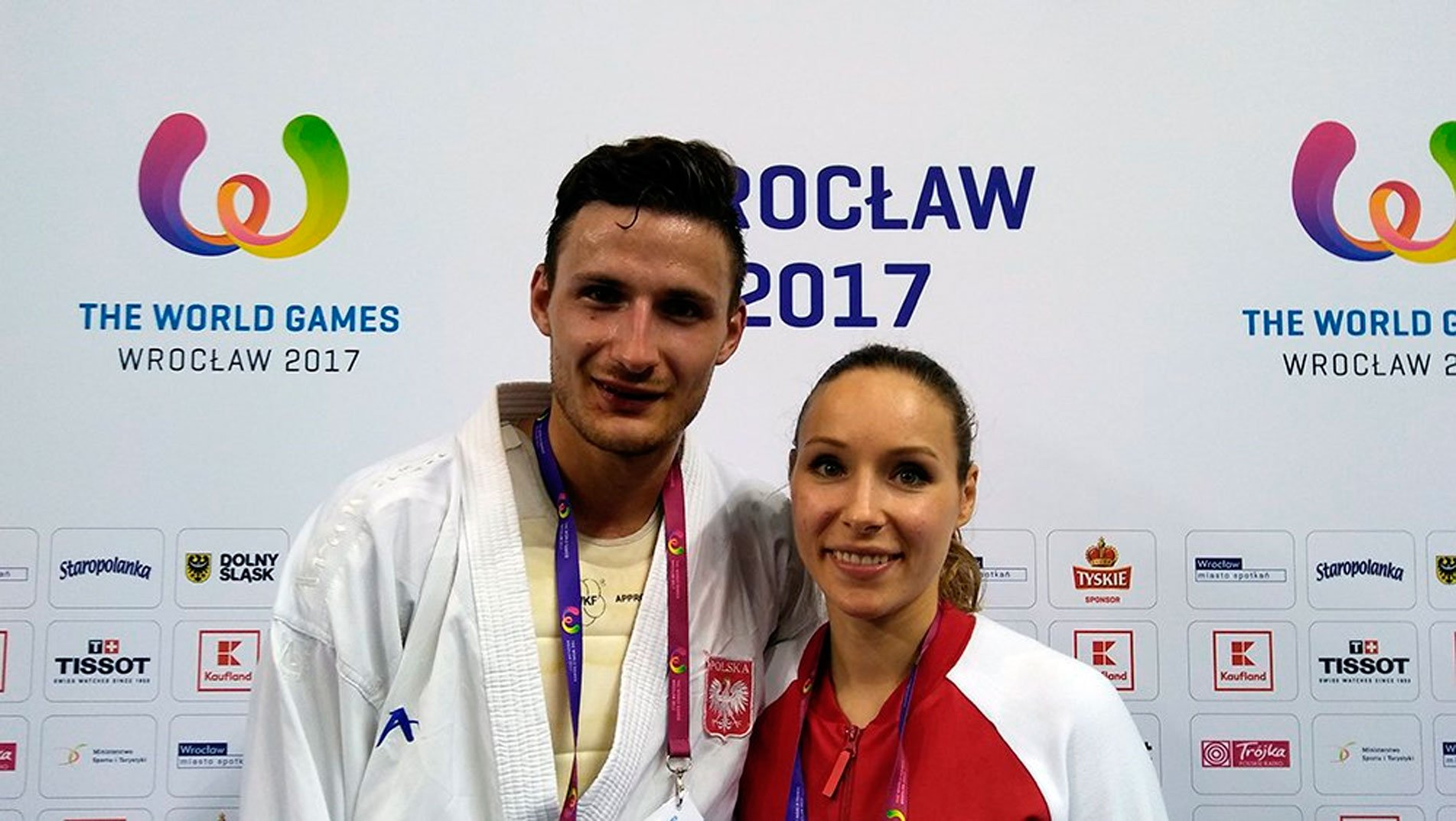 Twins Kamil and Kamila Warda enjoying historic edition of The World Games