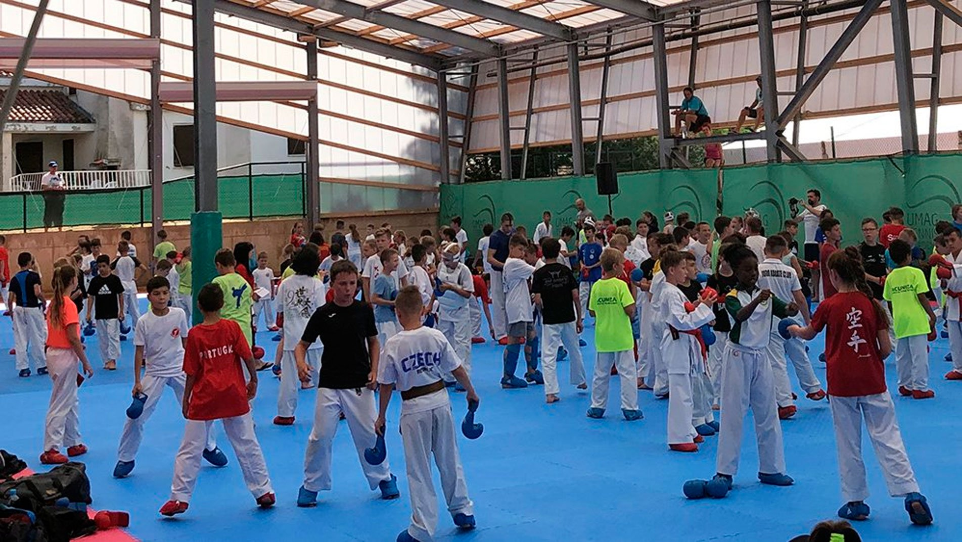 Anti-doping seminar staged at WKF Youth Camp & Cup in Umag