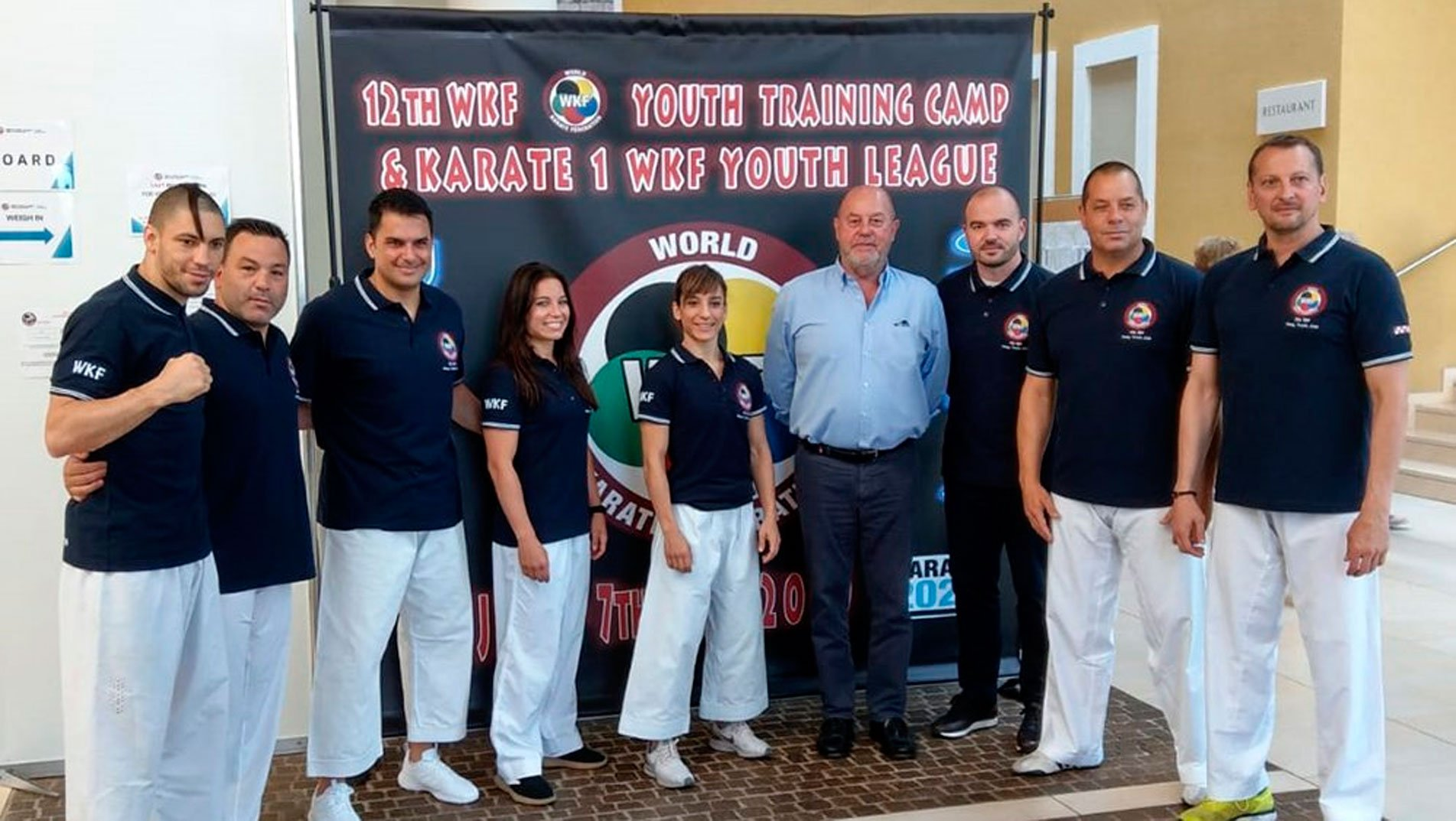 Massive WKF Youth Camp starts in Umag