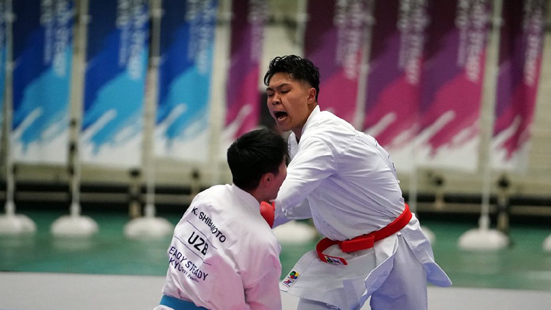 Ready Steady Tokyo- Karate: Test Event shows Karate determination to shine at Olympic Games