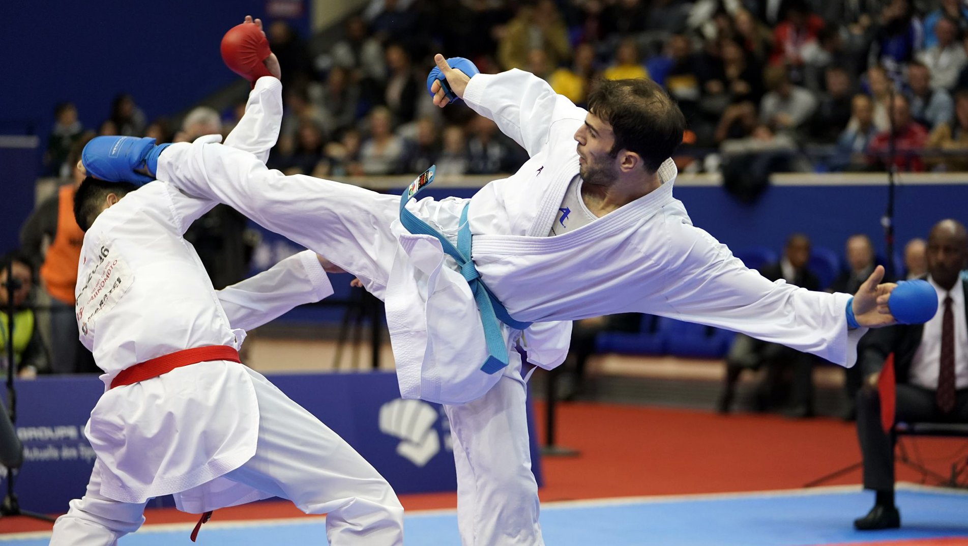 Favourites shine in day 2 of Karate 1-Series A Santiago