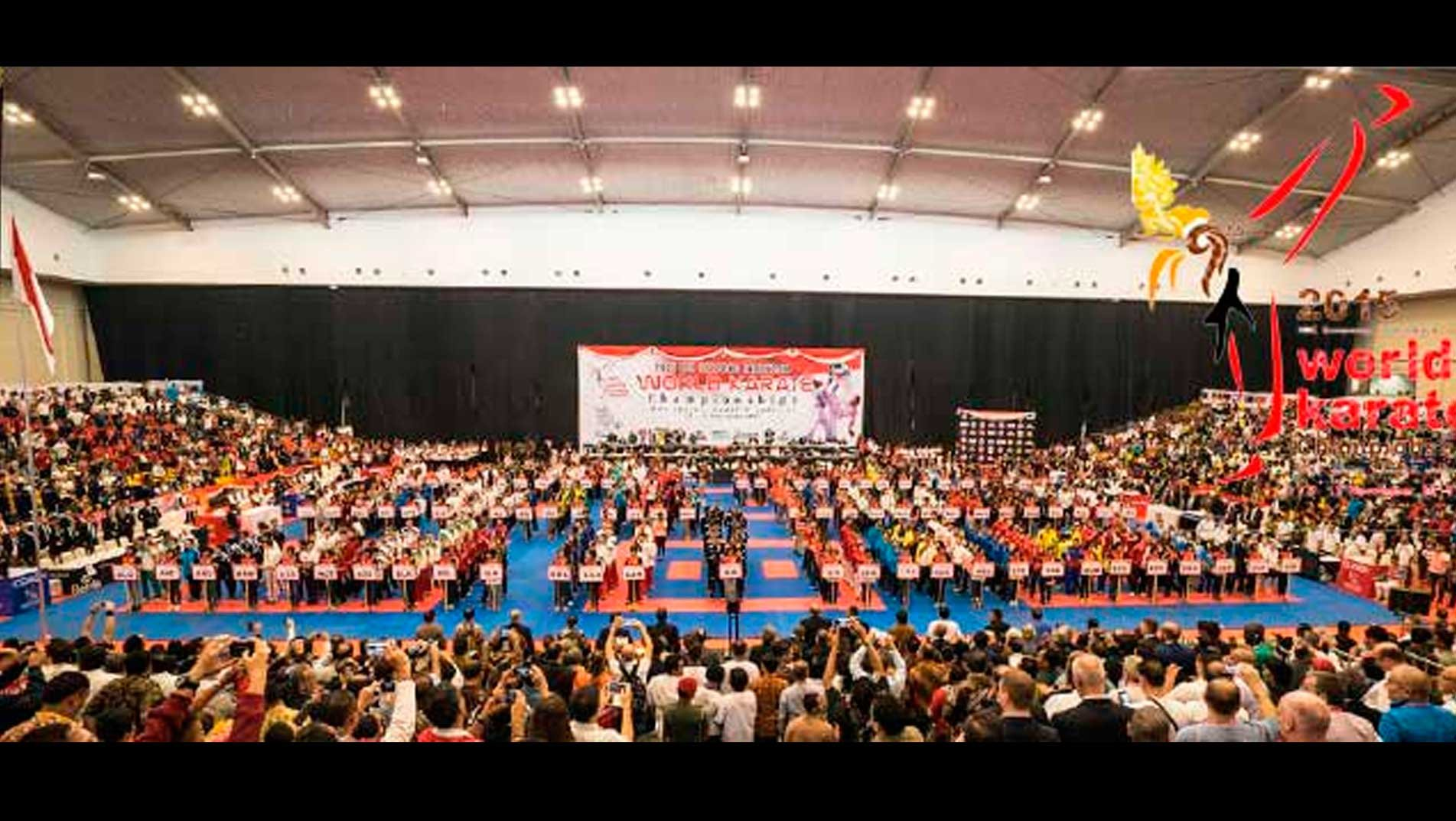 The 9th World Junior, Cadet & Under 21 Karate Championships 2015 is open.