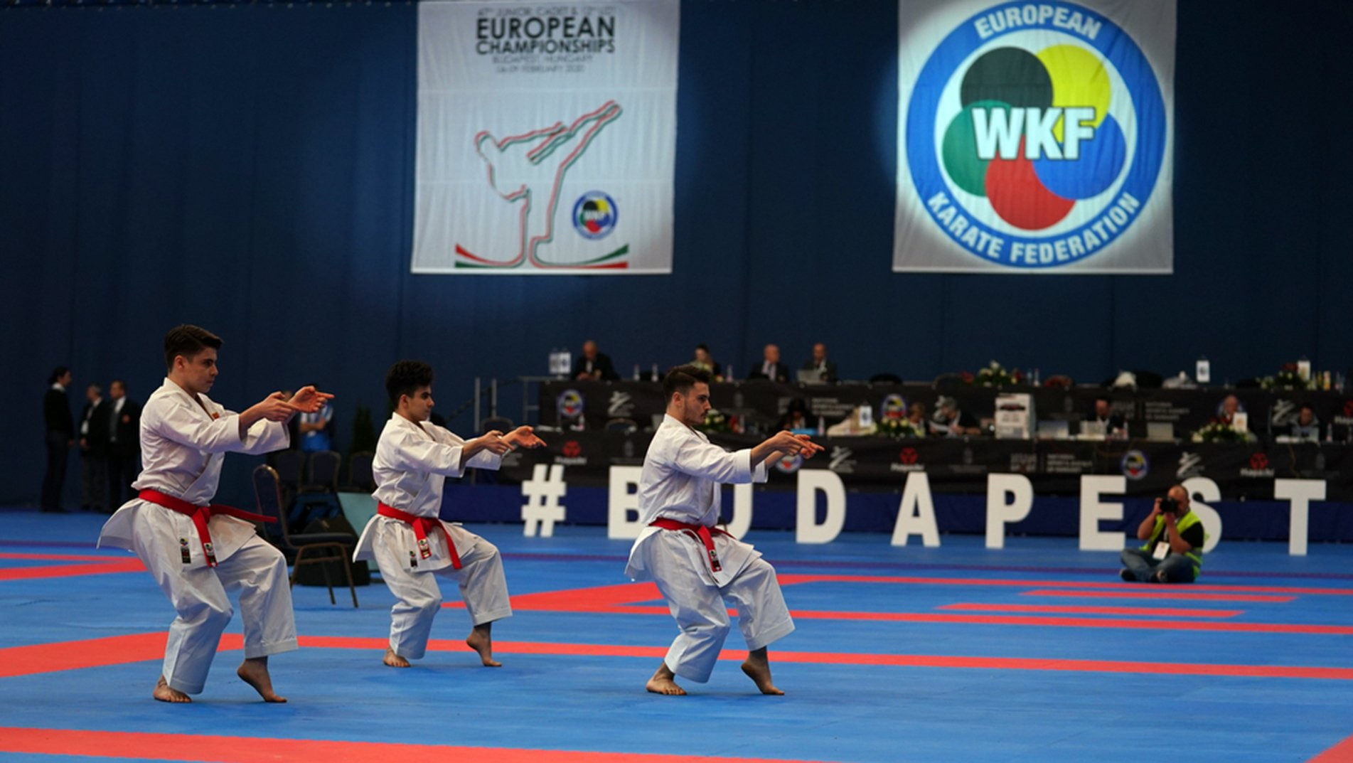 Azerbaijan prevail in Junior categories at EKF Cadet, Junior, U21 Championships