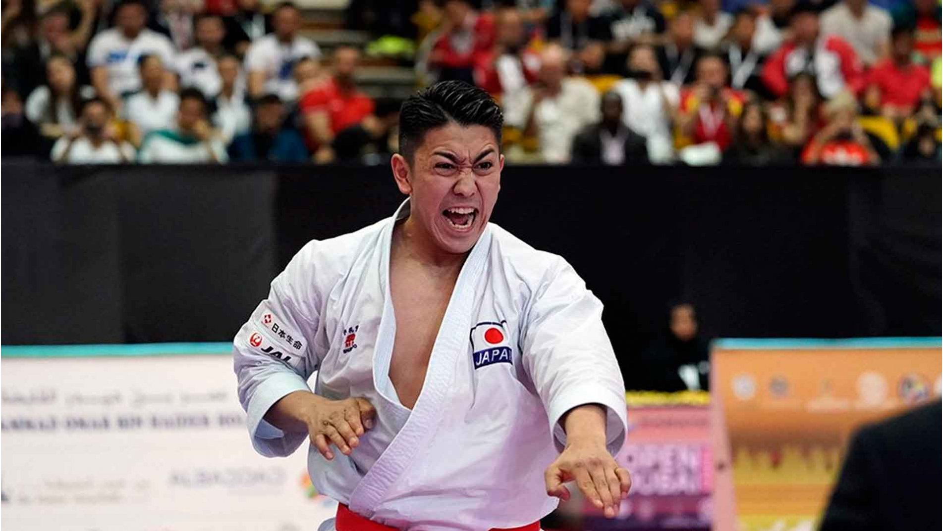 Top karatekas set for gold as thrilling second day of #Karate1Dubai concludes
