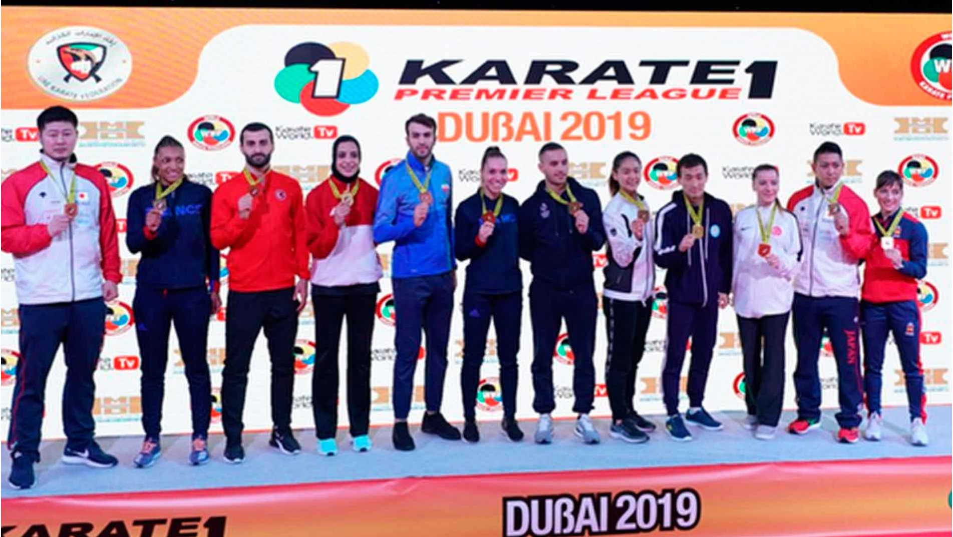 Grand Winners show strength to dominate #Karate1Dubai