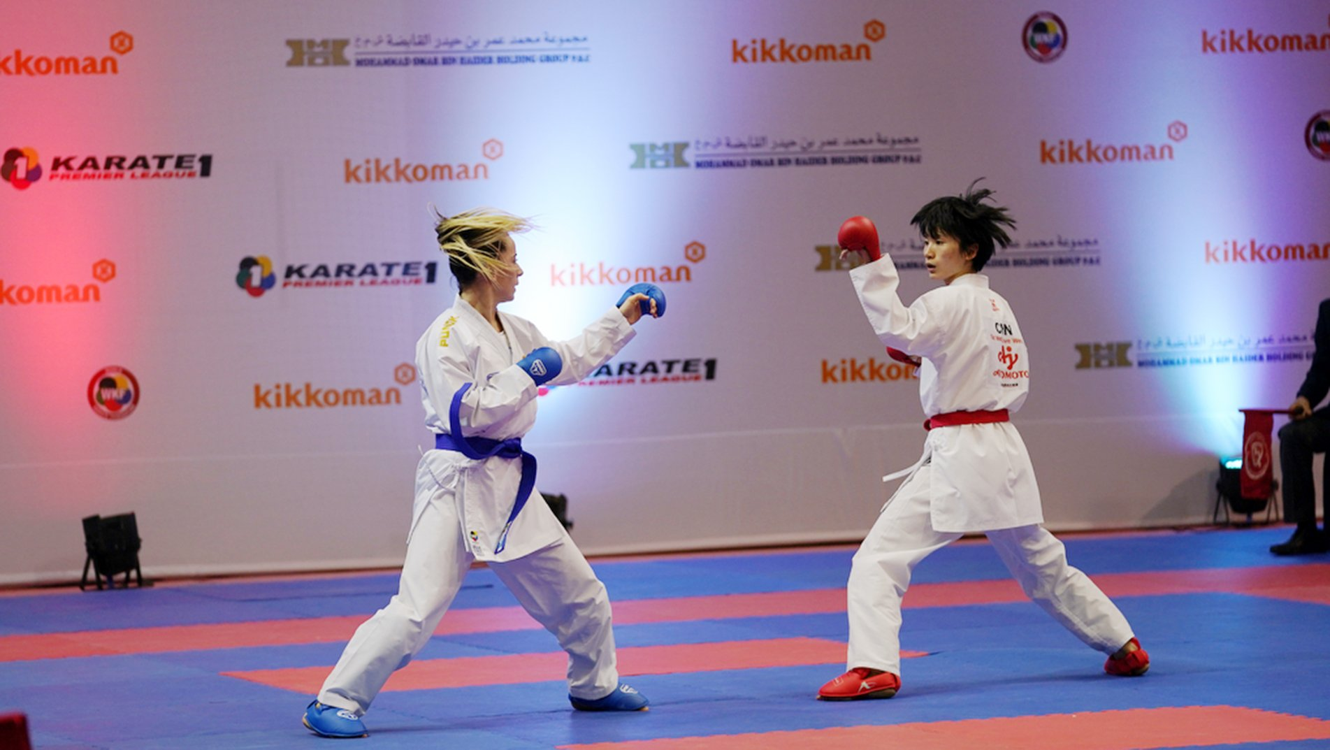 Grand Winners lead way to medals in day 1 of Karate 1-Premier League Dubai