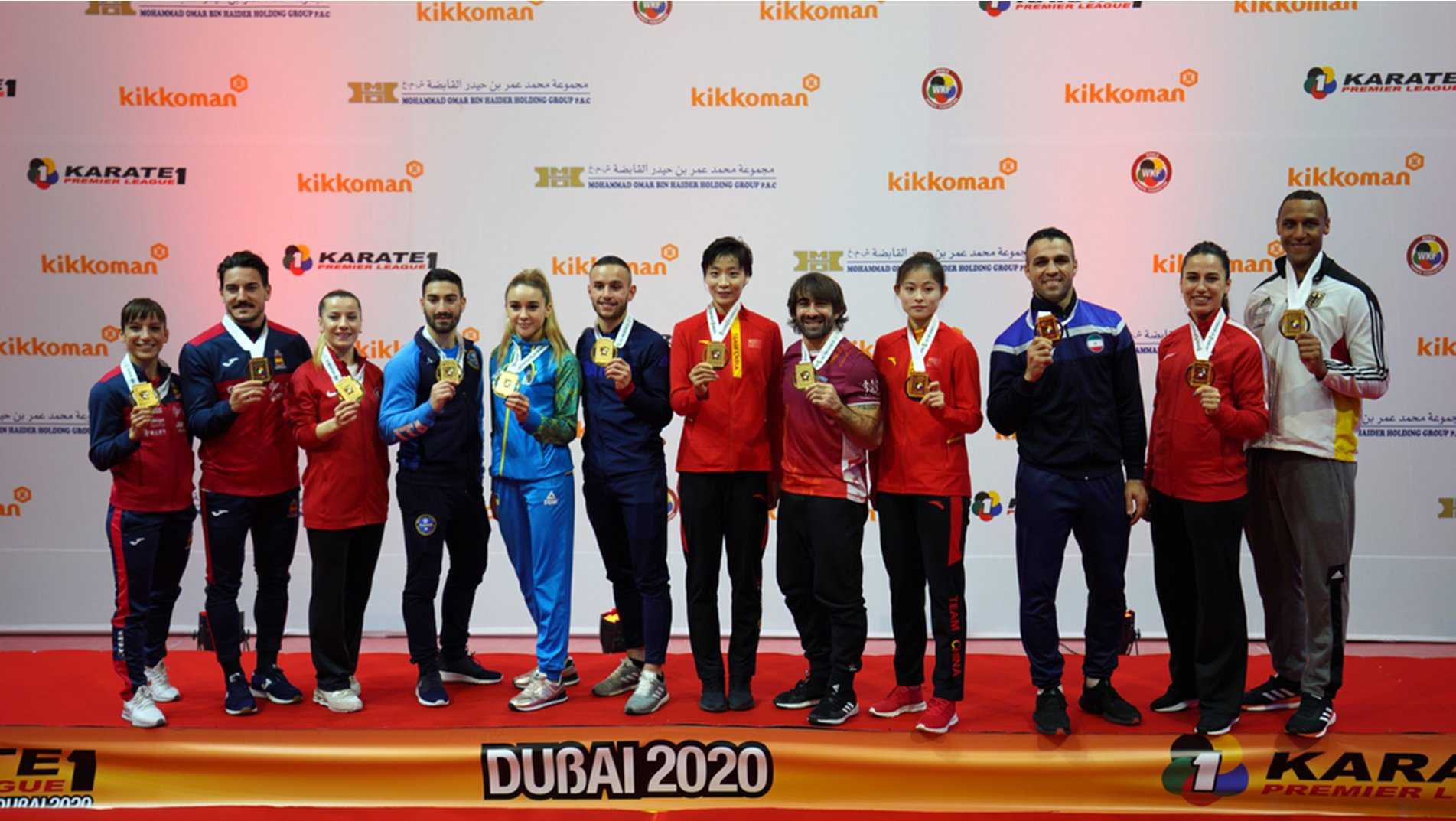 Grand Winners and favourites prevail as Karate 1 Premier League concludes in Dubai