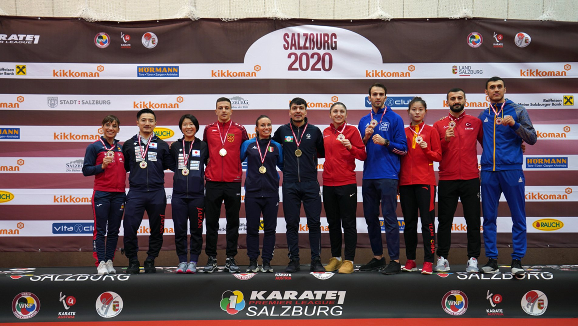 Karate 1 Premier League Salzburg crowns new Karate stars