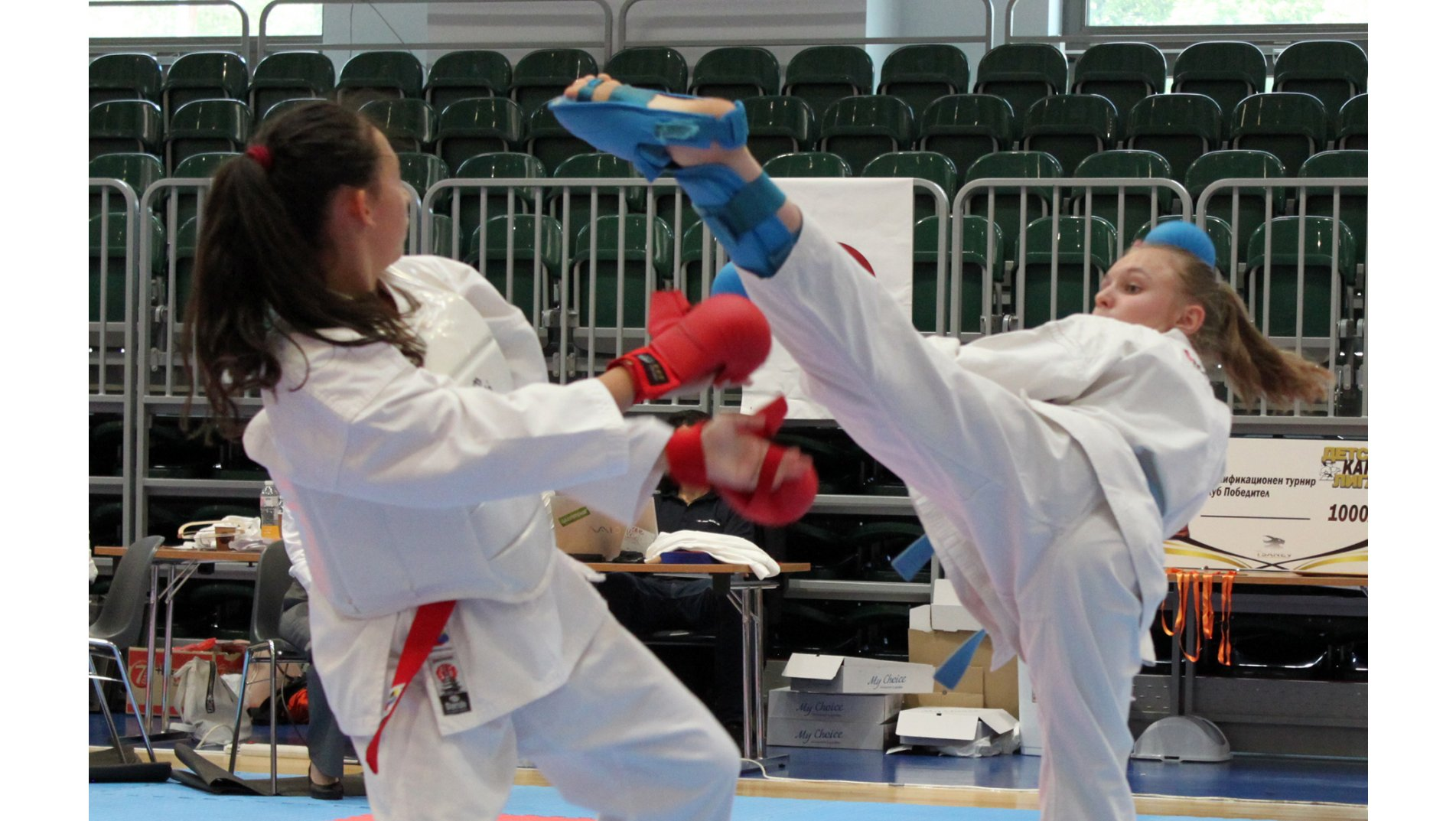 Karate hoping to go back to normal: successful underage tournament in Bulgaria