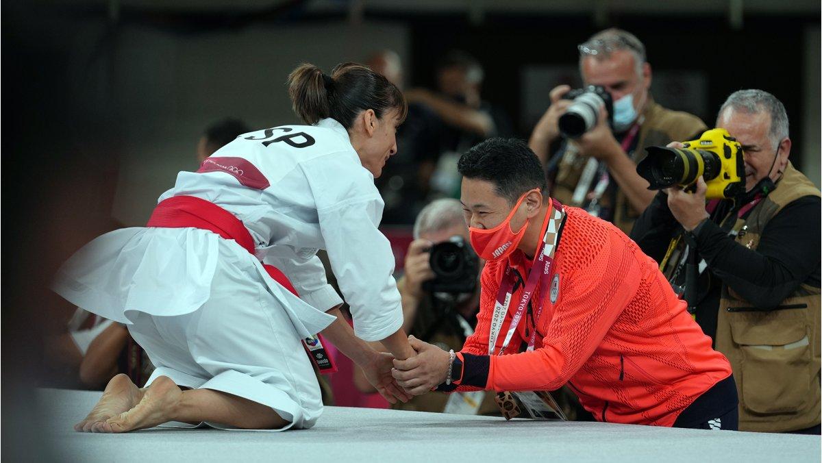 Los karatekas ejemplifican los valores olímpicos dentro y fuera del tatami olímpico